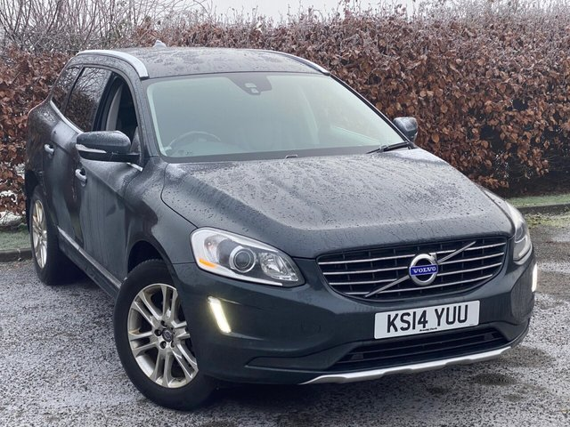 USED 2014 14 VOLVO XC60 2.4 D5 SE LUX NAV AWD 5d 212 BHP * 12 MONTHS FREE AA MEMBERSHIP * FULL BLACK LEATHER * AUTOMATIC *