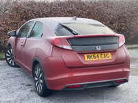 USED 2014 64 HONDA CIVIC 1.8 I-VTEC SE PLUS 5d 140 BHP * LOW  MILEAGE * BLUETOOTH * REVERSING CAMERA *