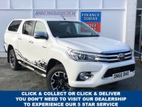 USED 2016 59 TOYOTA HI-LUX 2.4 INVINCIBLE X 4WD 4dr 5 Seat Double Cab Pickup AUTO with Towbar Recent Service & MOT plus New Brakes New Battery and Wipers Ready to Finance and Drive Away The perfect practical Pick-Up