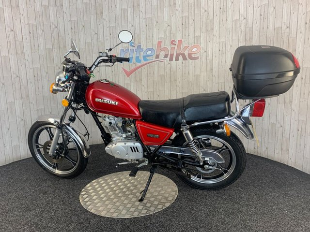 SUZUKI GN125 at Rite Bike