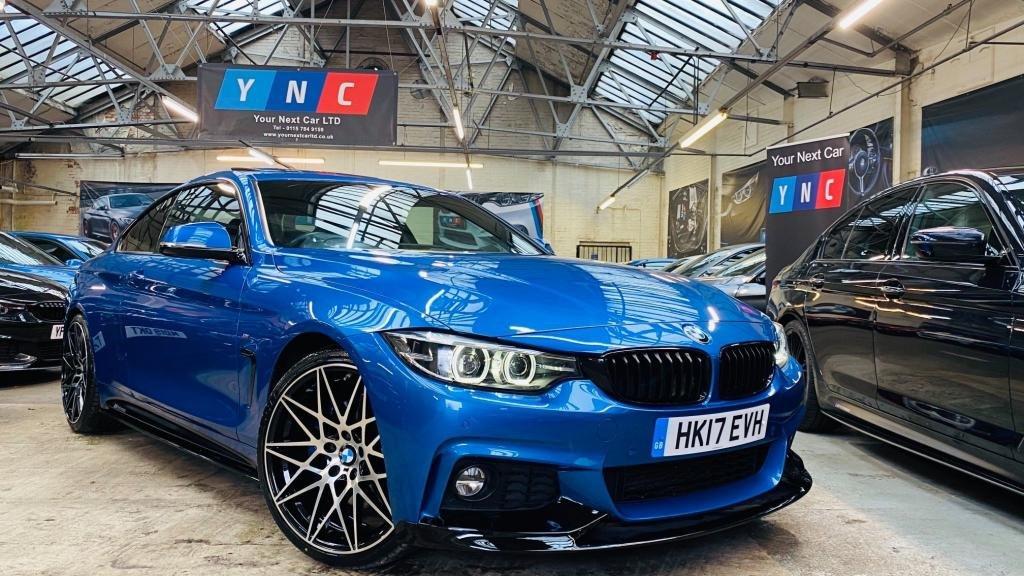 USED 2017 17 BMW 4 SERIES 2.0 420d M Sport Auto 2dr PERFORMANCEKIT+RADARCRUISE+
