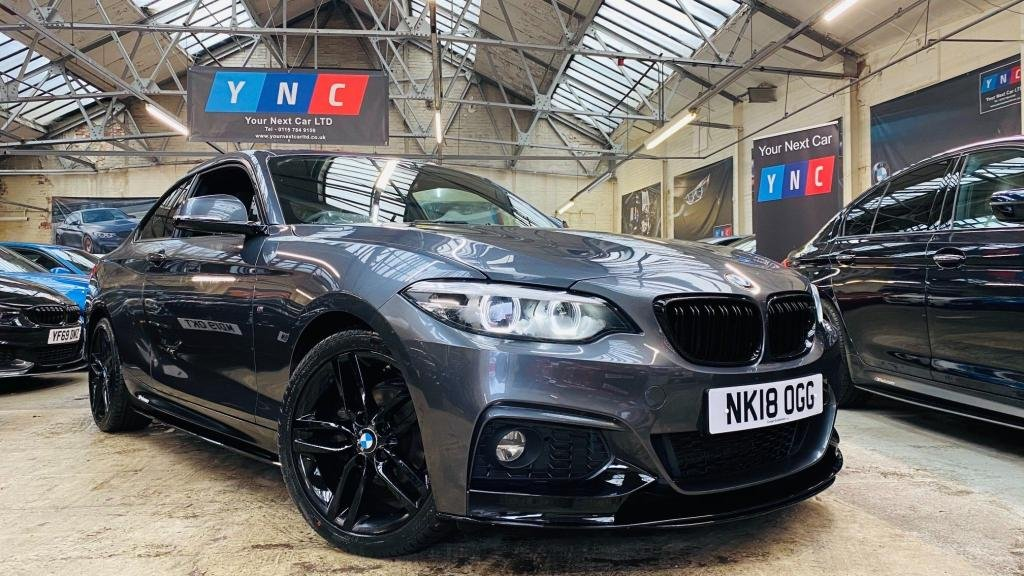 USED 2018 18 BMW 2 SERIES 1.5 218i M Sport (s/s) 2dr PERFORMANCEKIT+FACELIFT+18S
