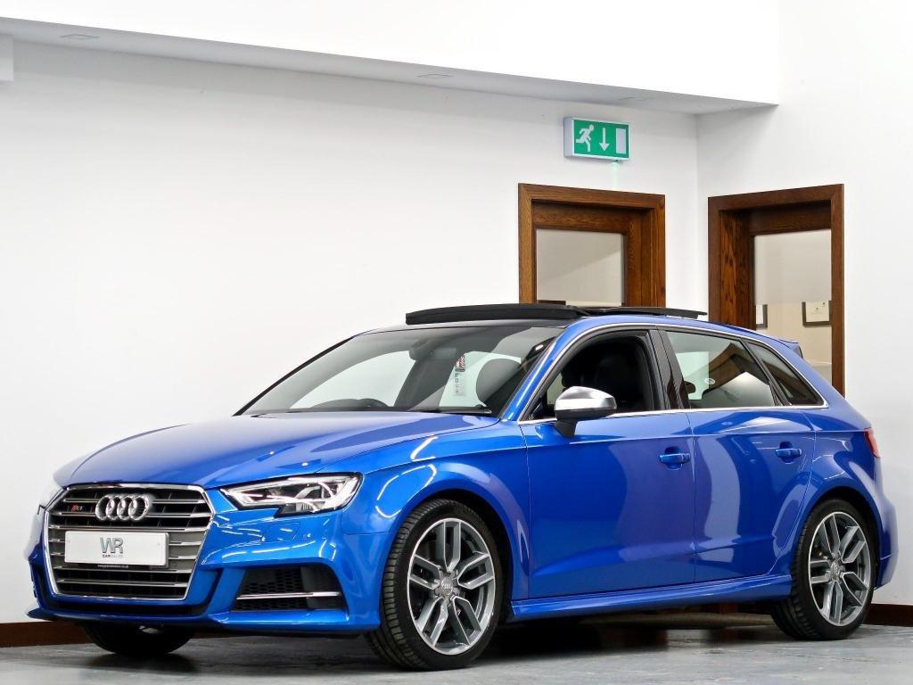 USED 2018 18 AUDI S3 2.0 TFSI Sportback S Tronic quattro (s/s) 5dr PAN ROOF + VIRTUAL CP + H/LTHR