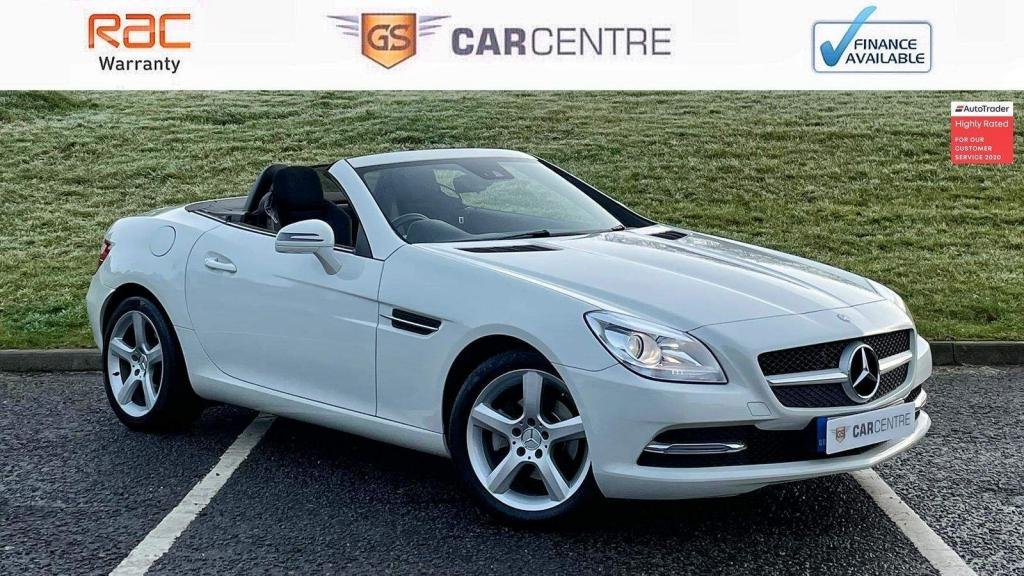 USED 2011 61 MERCEDES-BENZ SLK 1.8 SLK200 BlueEFFICIENCY Edition 125 7G-Tronic Plus 2dr Sat Nav | Cruise | Bluetooth