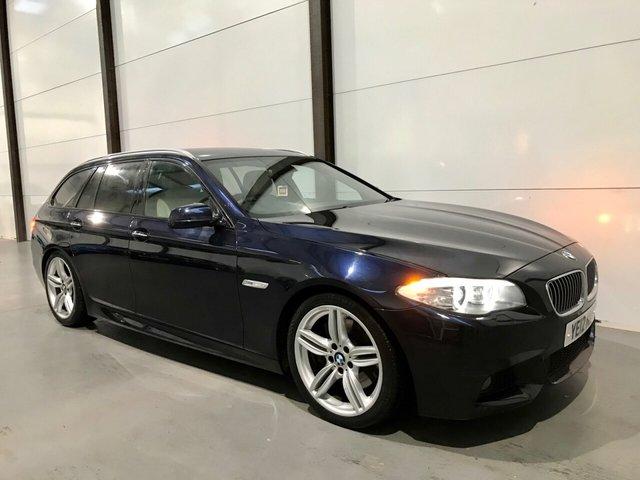 2012 12 BMW 5 SERIES 3.0 535D M SPORT TOURING 5d 313 BHP