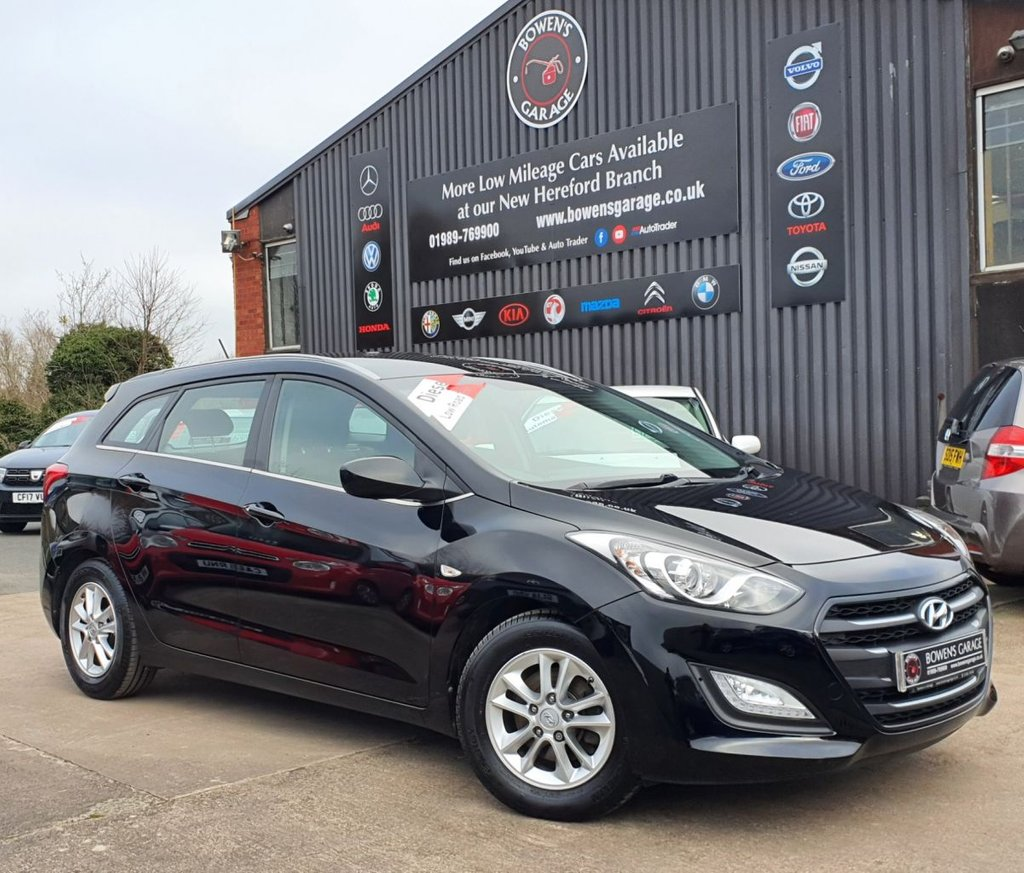 USED 2016 16 HYUNDAI I30 TOURER 1.6 CRDI SE BLUE DRIVE 5D 109 BHP 2 Owners - 3 Services - £20 Tax - 70+ MPG