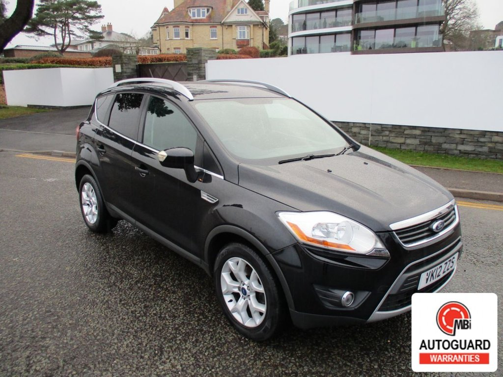 USED 2012 12 FORD KUGA 2.0 ZETEC TDCI 2WD 5d 138 BHP ONE FORMER KEEPER..S.HISTORY