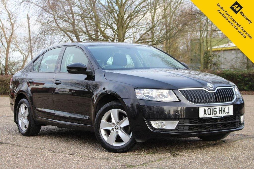USED 2016 16 SKODA OCTAVIA 1.4 SE TSI 5d 148 BHP ** FULL SERVICE HISTORY ** BRAND NEW SERVICE + MOT ** UPGRADED REAR PARKIG AID ** BLUETOOTH ** DAB RADIO ** USB + AUX ** DUAL ZONE CLIMATE CONTROL ** FULL SIZE SPARE WHEEL ** ONLY £30 ROAD TAX - 55+ MPG ** ULEZ CHARGE EXEMPT ** CLICK & COLLECT + NATIONWIDE DELIVERY AVAILABLE ** BUY ONLINE IN CONFIDENCE FROM A MULTI AWARD WINNING 5* RATED DEALER **