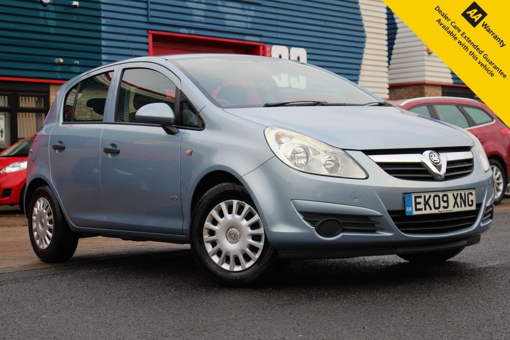 USED 2009 09 VAUXHALL CORSA 1.0 LIFE A/C 5d 60 BHP ** 1 OWNER FROM NEW ** SUPERB FULL VAUXHALL MAIN DEALER SERVICE HISTORY 11 STAMPS!! ** BRAND NEW ADVISORY FREE MOT - EXPIRY JAN 2022 ** 2 NEW FRONT TYRES ** GENUINE LOW MILEAGE PERFECT CONDITION EXAMPLE ** AIR CONDITIONING ** REMOTE CENTRAL LOCKING ** ELECTRIC WINDOWS + MIRRORS ** ULEZ CHARGE EXEMPT ** CLICK & COLLECT + NATIONWIDE DELIVERY AVAILABLE ** BUY ONLINE IN CONFIDENCE FROM A MULTI AWARD WINNING 5* RATED DEALER **
