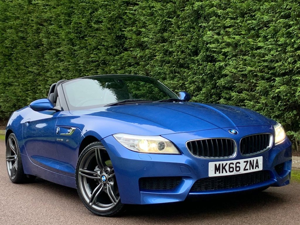 USED 2016 66 BMW Z4 2.0 Z4 SDRIVE18I M SPORT ROADSTER 2d 155 BHP PRO NAV+HEATED LEATHER+PARK