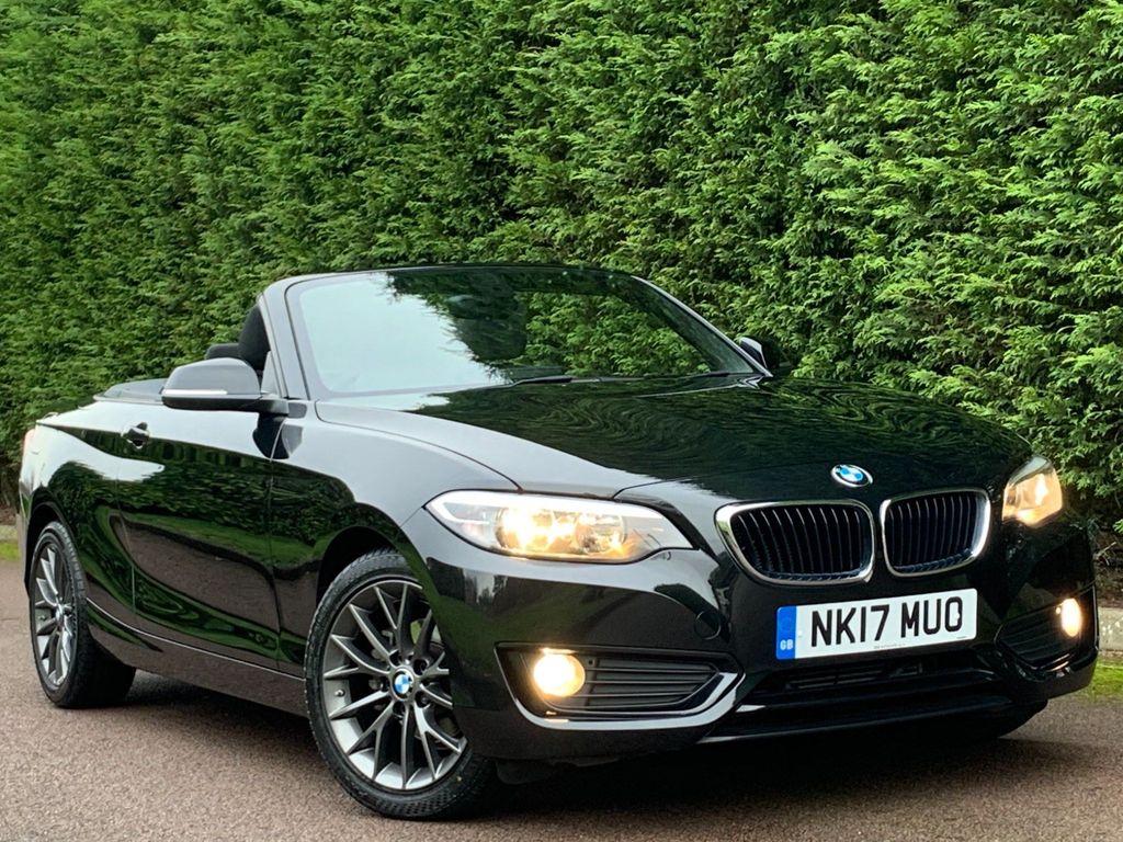 USED 2017 17 BMW 2 SERIES 1.5 218I SE 2d 134 BHP SAT NAV+BLUETOOTH+PARK ASSIST