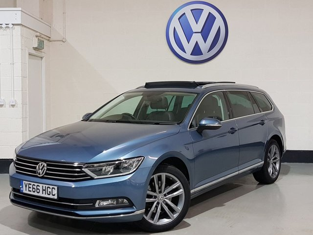 USED 2016 66 VOLKSWAGEN PASSAT 2.0 GT TDI BLUEMOTION TECHNOLOGY 5d 148 BHP 1 Owner/Pan Roof/Nav/Heated Leather/Camera/Power Boot