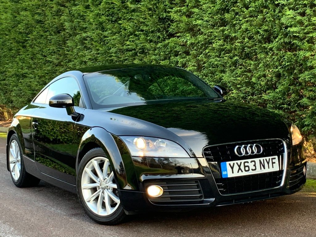 USED 2013 63 AUDI TT 1.8 TFSI SPORT 2d 158 BHP HEATED SEATS+BLUETOOTH+PARK