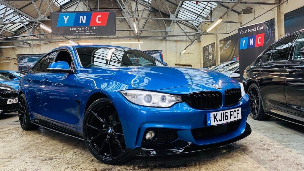 USED 2016 16 BMW 4 SERIES 2.0 420d M Sport Gran Coupe Auto (s/s) 5dr PERFORMANCEKIT+20S+RADARCRUISE