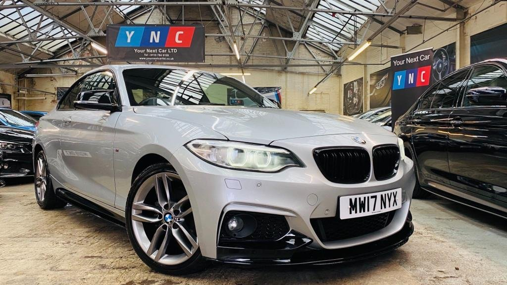 USED 2017 17 BMW 2 SERIES 2.0 218d M Sport (s/s) 2dr YNCMPERFORMANC+XENONS+18S