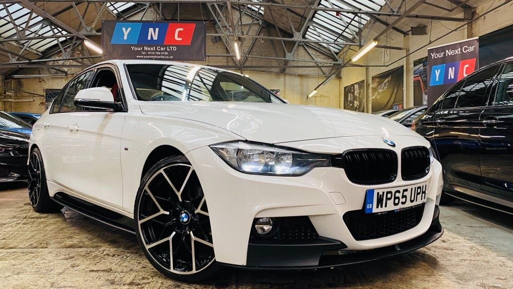 USED 2015 65 BMW 3 SERIES 2.0 320d BluePerformance M Sport (s/s) 4dr PERFORMANCEKIT+20S+REDLEATHER!