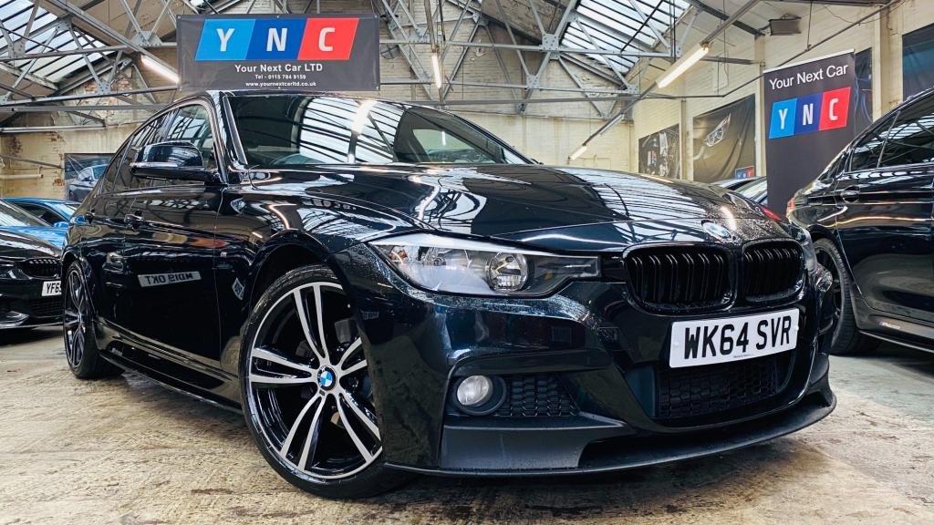 USED 2014 64 BMW 3 SERIES 2.0 320d M Sport (s/s) 4dr YNCMPERFORMANCEKIT+19S+HTDLTHR