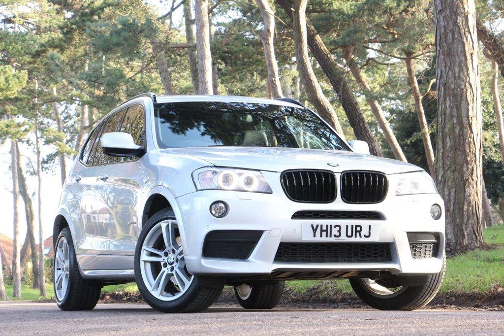 USED 2013 13 BMW X3 XDRIVE 30D M SPORT 258 BHP