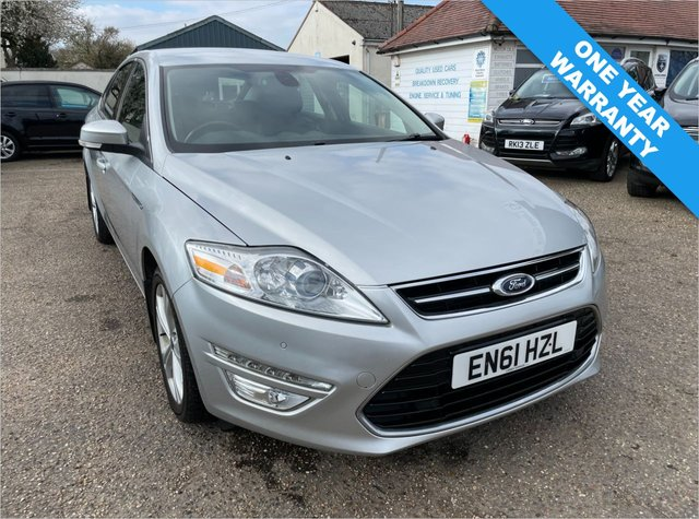 USED 2012 61 FORD MONDEO 2.0 TITANIUM X TDCI 5d 138 BHP ONE YEAR WARRANTY INCLUDED / CRUISE CONTROL / HEATED SEATS