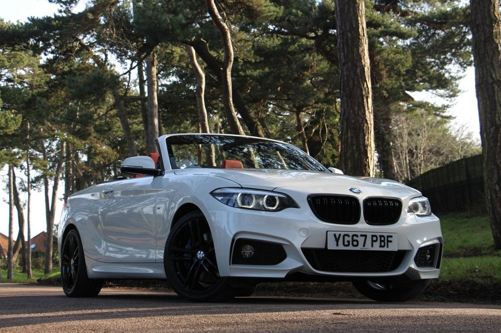 USED 2018 67 BMW 2 SERIES 220i M SPORT CONVERTIBLE