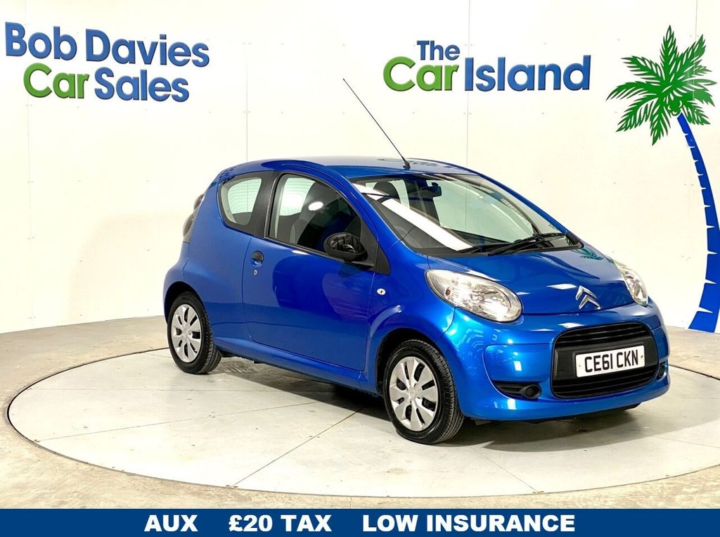 USED 2011 61 CITROEN C1 1.0 VT 3d 68 BHP Wonderful low mileage locally owned runabout with only £20 tax