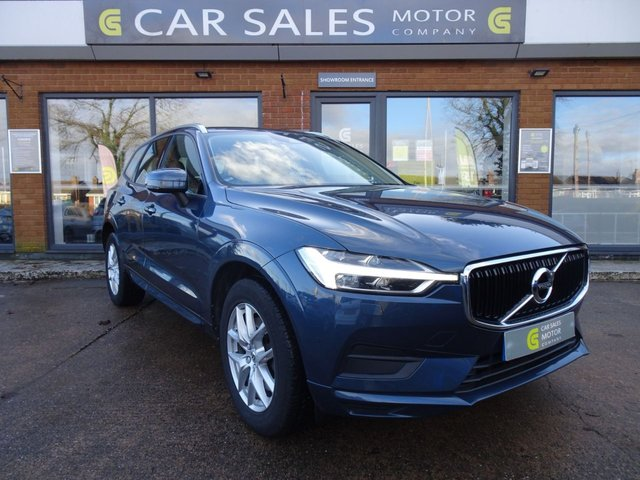 USED 2018 67 VOLVO XC60 2.0 D4 MOMENTUM AWD 5d 188 BHP ONE OWNER FROM NEW, FULL VOLVO SERVICE HISTORY, JUST SERVICED AND MOT'D AT VOLVO NORTHAMPTON, WINTER PACK, SAT NAV, FULL LEATHER INTERIOR, ALL WHEEL DRIVE, AUTOMATIC TAILGATE, HPI CLEAR, 5 STAR RATED DEALERSHIP - BUY WITH CONFIDENCE