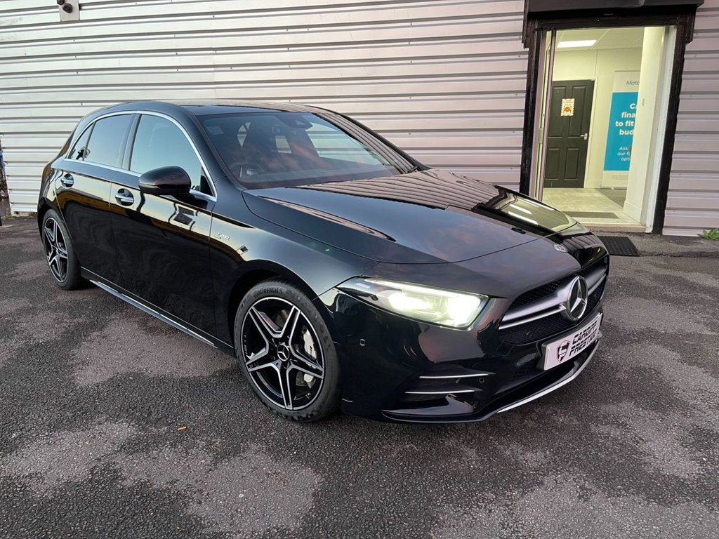 USED 2019 69 MERCEDES-BENZ A-CLASS 2.0 AMG A 35 4MATIC PREMIUM PLUS 5d 302 BHP PLEASE WATCH OUR 4K VIDEO