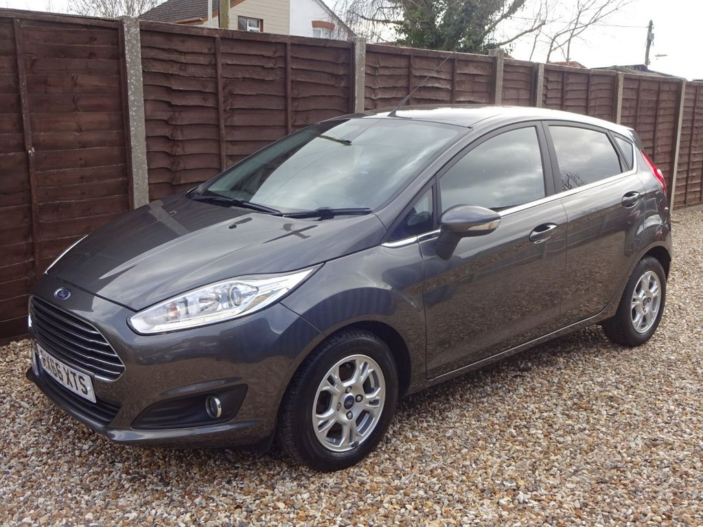 USED 2016 66 FORD FIESTA 1.5 TDCi TITANIUM ECONETIC 5DOOR YES ONLY 27,000 MILES FROM NEW! READY TO GO!