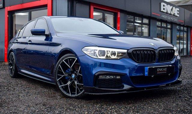2018 18 BMW 5 SERIES 2.0 520D M SPORT 4d 188 BHP