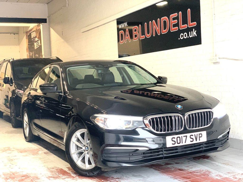 USED 2017 17 BMW 5 SERIES 2.0 520D XDRIVE SE 4d 188 BHP SAT NAV+R.CAMERA+FBMWSH+1OWNER