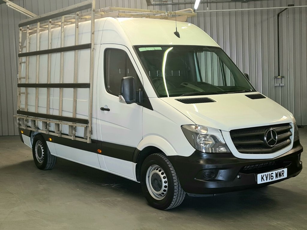 USED 2016 16 MERCEDES-BENZ SPRINTER 2.1 313 CDI MWB 129 BHP 6 MONTH GOLD WARRANTY INCLUDED