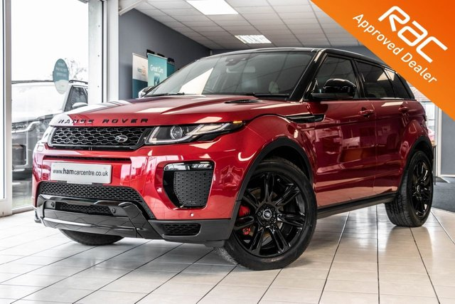 2017 67 LAND ROVER RANGE ROVER EVOQUE 2.0 TD4 HSE DYNAMIC 5d 177 BHP 4WD BLACK STYLING PACK
