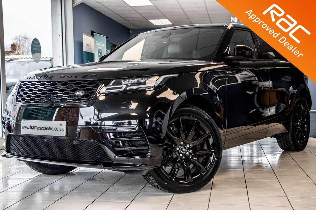 "USED 2017 67 LAND ROVER RANGE ROVER VELAR 2.0 R-DYNAMIC SE 5d 238 BHP BLACK STYLING PACK  LOW-MILES+PAN-ROOF+21""ALLOYS"