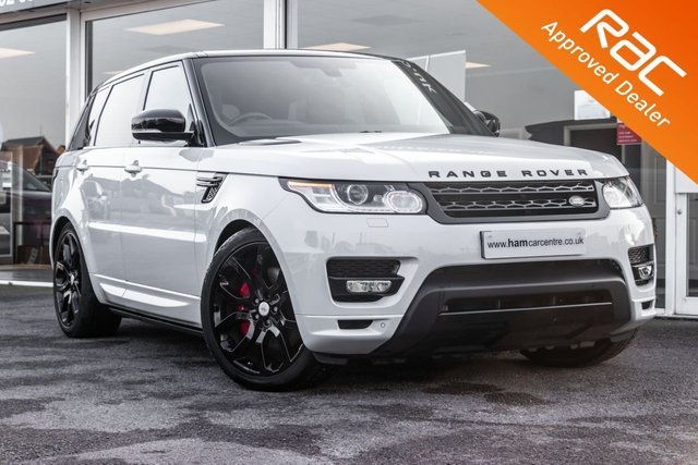 2015 15 LAND ROVER RANGE ROVER SPORT 3.0 SDV6 AUTOBIOGRAPHY DYNAMIC 5d 306 BHP BLACK STYLING PACK