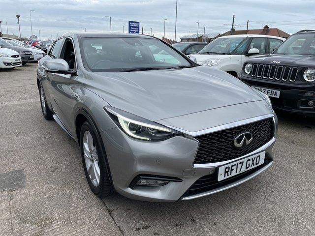 USED 2017 17 INFINITI Q30 1.5 PREMIUM TECH INTOUCH 5d 107 BHP *PANORAMIC ROOF*FULL LEATHER*SAT NAV*ELECTRIC MEMORY HEATED SEAT*