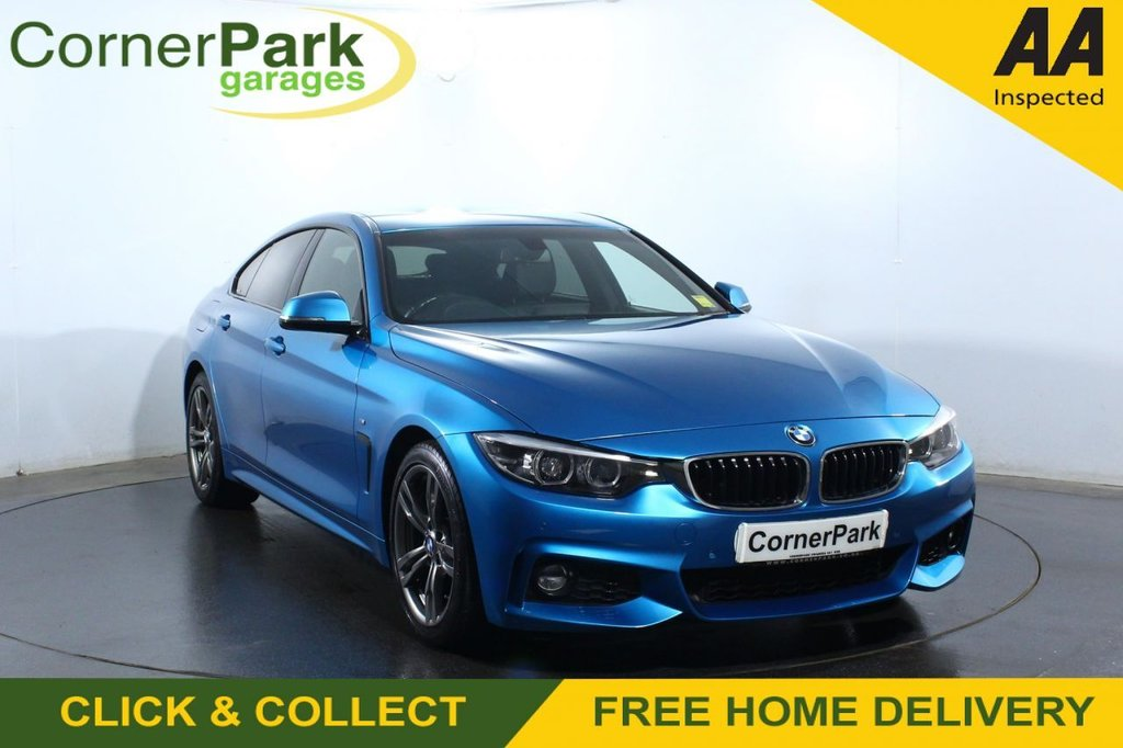USED 2017 17 BMW 4 SERIES GRAN COUPE 2.0 420I M SPORT GRAN COUPE 4d 181 BHP