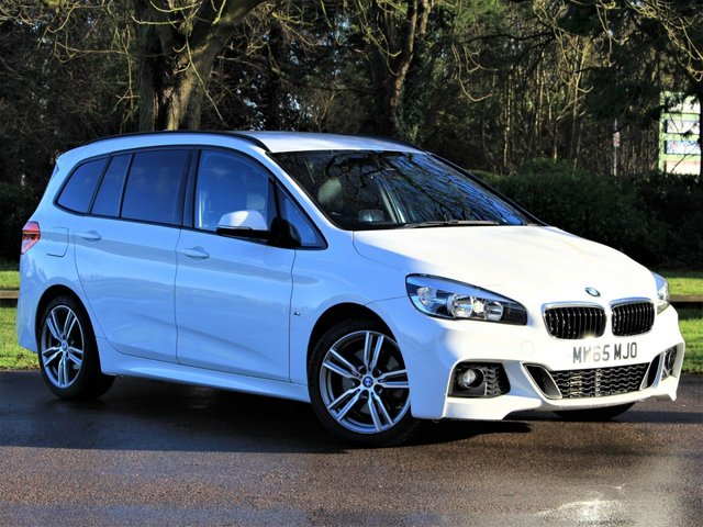 USED 2015 65 BMW 2 SERIES 2.0 220D XDRIVE M SPORT GRAN TOURER 5d 188 BHP £265 PCM With £1495 Deposit