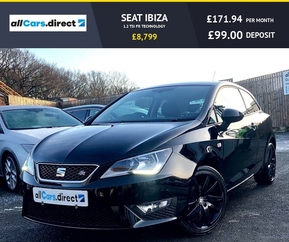 USED 2016 66 SEAT IBIZA 1.2 TSI FR TECHNOLOGY