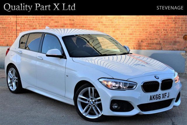 USED 2016 66 BMW 1 SERIES 2.0 118d M Sport (s/s) 5dr SATNAV, BLUETOOTH, XENON, ECO