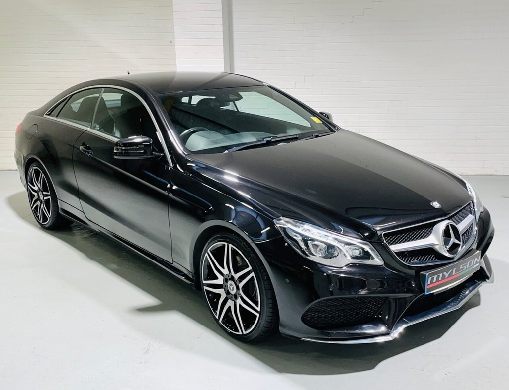 USED 2015 15 MERCEDES-BENZ E-CLASS 2.1 E220 CDI AMG SPORT 2d 170 BHP AMG Pack, COMAND Online, Reverse Camera, LED Lighting, 19in AMG Wheels
