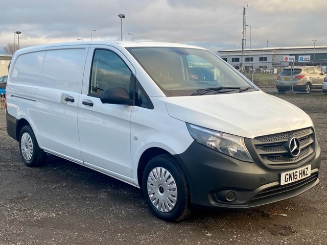 2016 16 MERCEDES-BENZ VITO 2.1 114 BLUETEC LWB 136 BHP AIR CON EURO 6
