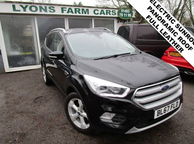 USED 2017 67 FORD KUGA 2.0 TITANIUM X TDCI 5d 148 BHP *ELECTRIC SUNROOF* Low Mileage, Full Service History (Ford + ourselves), One Owner, NEW MOT, Great fuel economy! Diesel