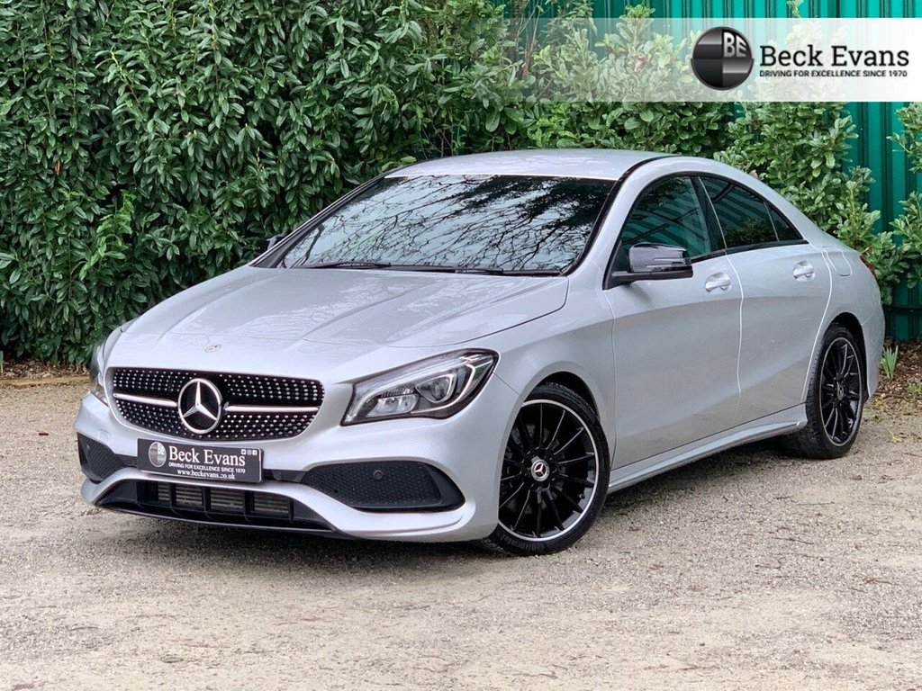 USED 2019 19 MERCEDES-BENZ CLA 2.1 CLA 220 D 4MATIC AMG LINE NIGHT EDITION 4d 168 BHP