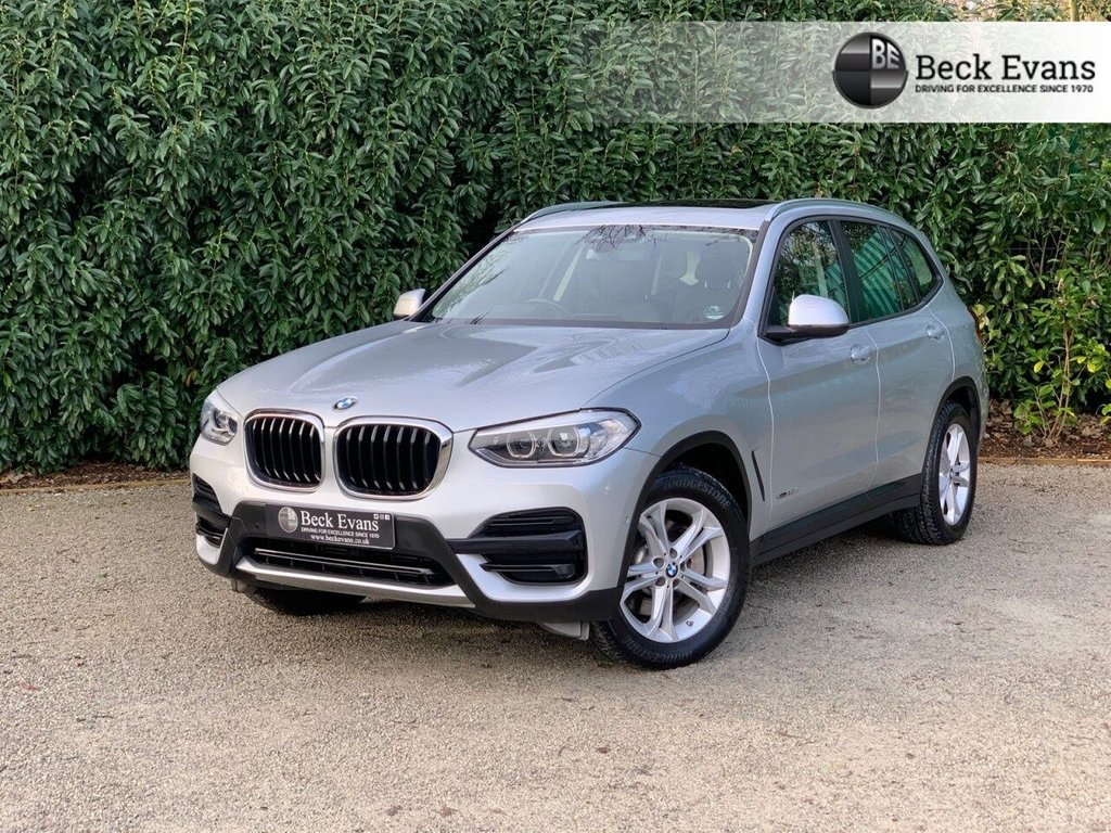 USED 2018 18 BMW X3 3.0 XDRIVE30D SE 5d 261 BHP