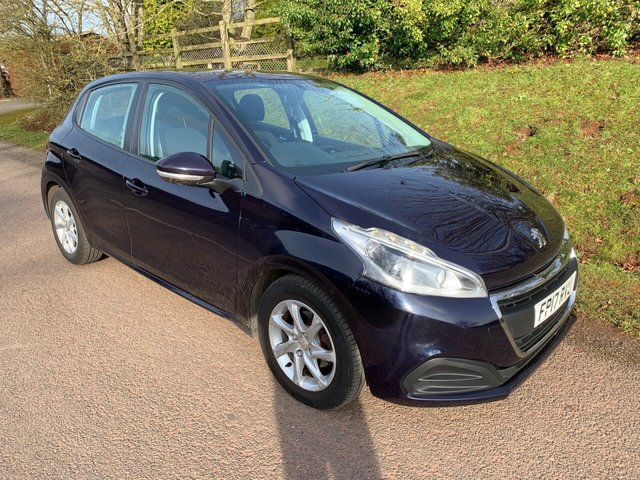 USED 2017 17 PEUGEOT 208 1.6 BLUE HDI ACTIVE 5d 75 BHP ** MOT ** SERVICE HISTORY **