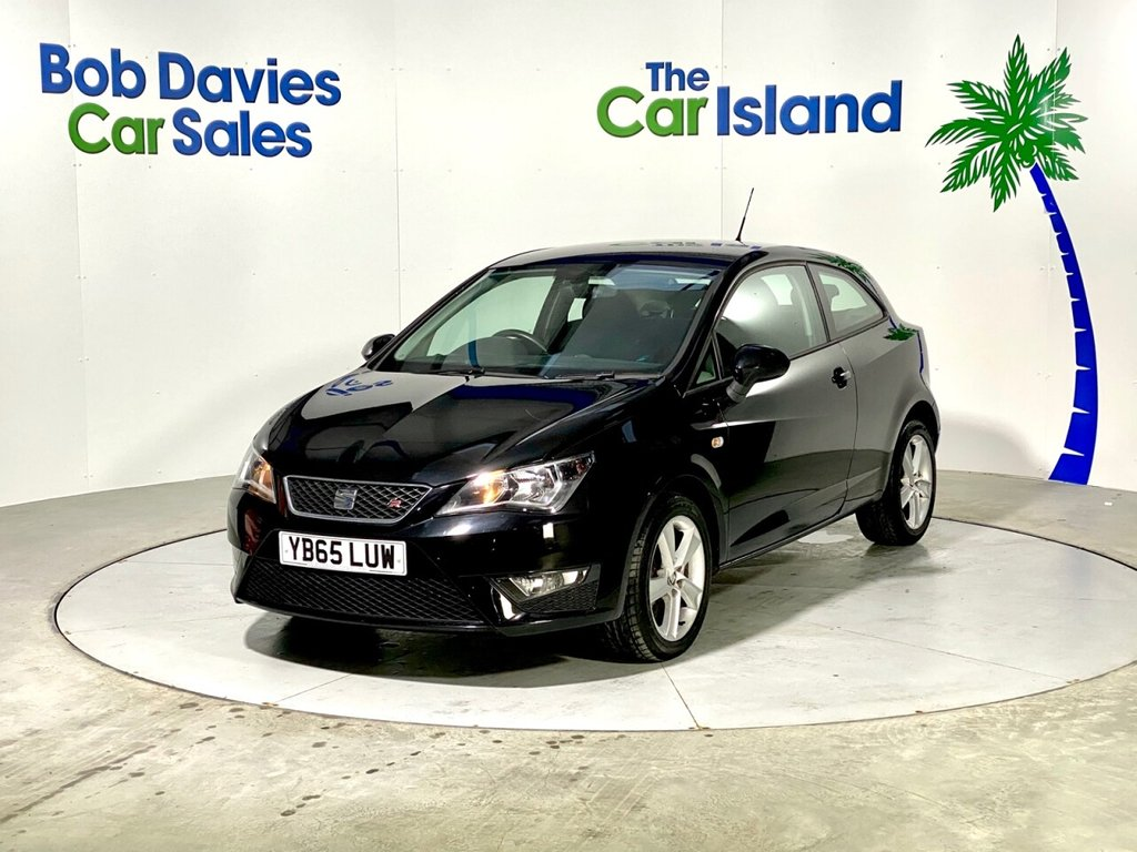 USED 2015 65 SEAT IBIZA 1.2 TSI FR 3d 109 BHP 1 Owner Bluetooth Alloys DAB Radio AUX only 27000 miles