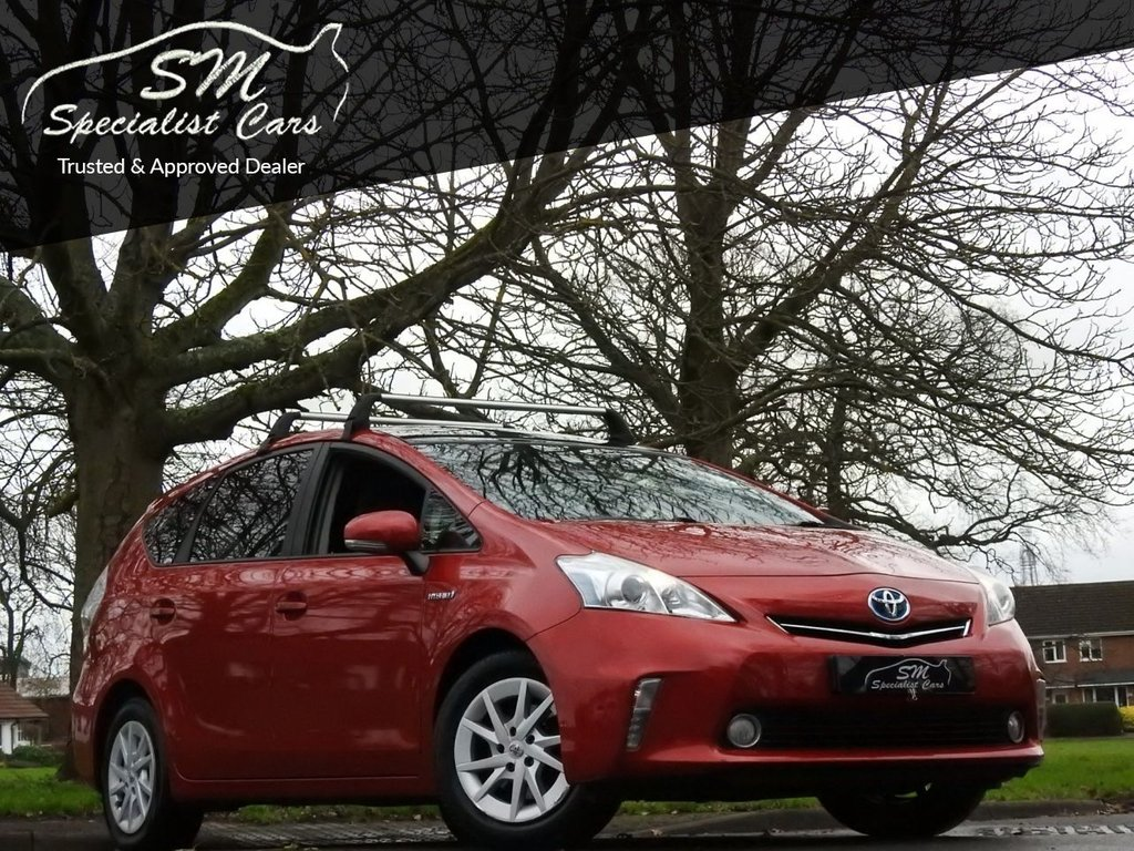 USED 2012 12 TOYOTA PRIUS PLUS 1.8 T4 5d 99 BHP ONLY 47K FROM NEW A/C VGC 7 SEATS