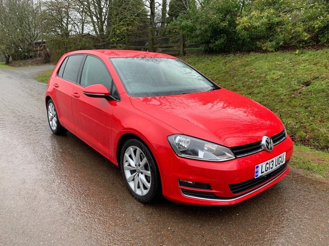 USED 2013 13 VOLKSWAGEN GOLF 1.4 GT TSI ACT BLUEMOTION TECHNOLOGY 5d 138 BHP ** £30 ROAD FUND ** MOT ** SERVICE HISTORY **