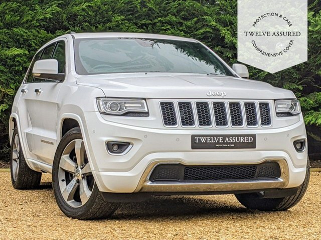 USED 2017 66 JEEP GRAND CHEROKEE 3.0 V6 CRD OVERLAND 5d AUTO 247 BHP (PANORAMIC ROOF & JEEP HISTORY)