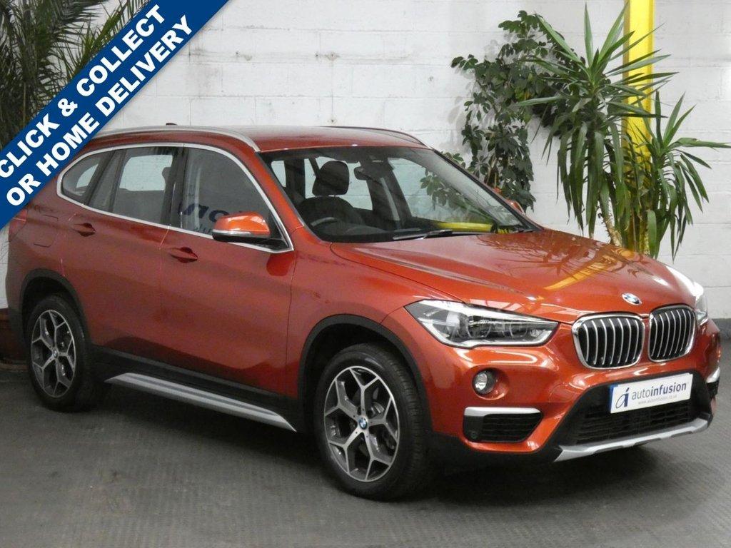 USED 2019 19 BMW X1 2.0 SDRIVE20I XLINE 5d 190 BHP SAT NAV LEATHER HEATED SEATS